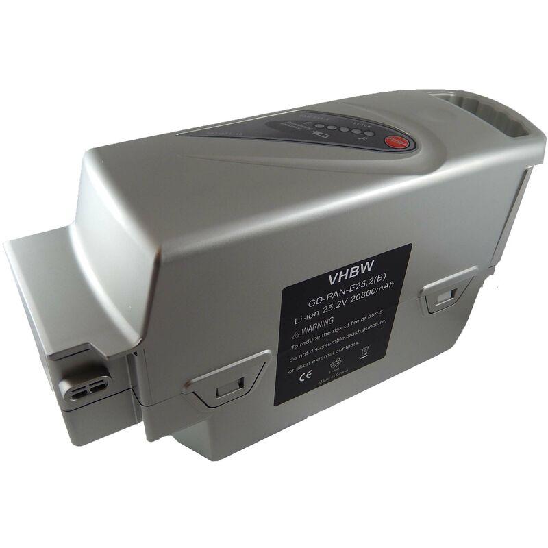 vhbw Batterie compatible avec Flyer C10, C10 HS, C11 HS, C12 HS, C6, C8 HS, L10 vélo électrique, E-bike, Pedelec (20800mAh, 25,2V, Li-ion)