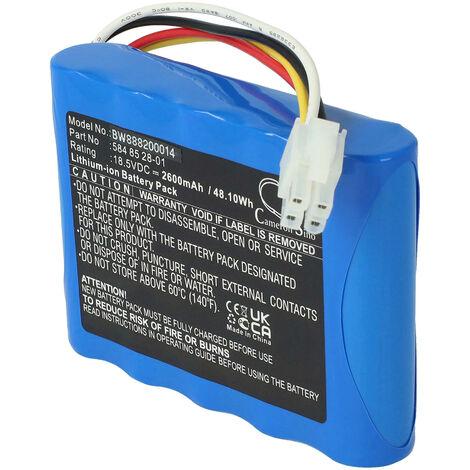 vhbw Li-Ion batterie 2600mAh pour tondeuse à gazon robot tondeuse Gardena R100Li, R130Li, R160Li 2016, R160Li 2017, R160Li 2018, Sileno, Sileno+