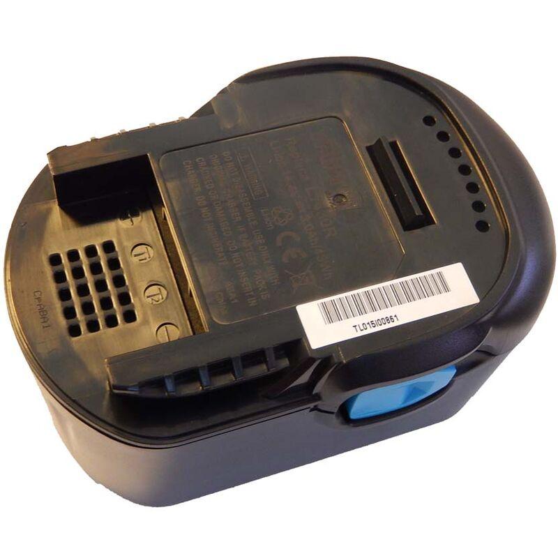 vhbw Li-Ion Batterie 3000mAh pour outils électriques AEG BS 14 C, BS 14 X, BS14C, BS14X, BSB 14G, BSS 14 comme L1414, L1414R, L1430R.