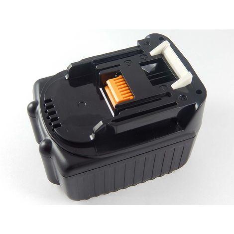 vhbw Li-Ion Batterie 3000mAh pour outils électriques Makita BTD130FSFE, BTD130FSFER, BTD130FSFEW, BTD130FW comme BL1430, Makita 194065-3, 194066-1.