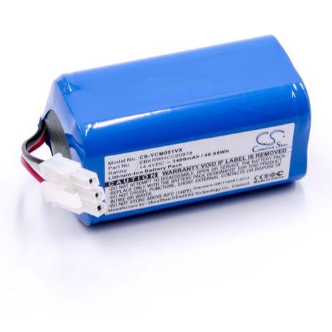 vhbw NiMH batterie 1500mAh 3.6V pour aspirateur Home Cleaner robots domestiques AEG//Elektrolux Junior 2.0