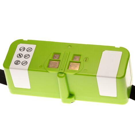 vhbw Li-Ion batterie 4000mAh (14.4V) compatible avec iRobot Roomba 690, 691, 695, 696, 801, 805, 850, 860, 877, 890, 891, 895 robot aspirateur