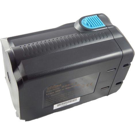 vhbw Li-Ion Batterie 6000mAh pour outils électriques Hilti TE 6A, TE 7A, TE6A, TE7A comme B36V, B36.