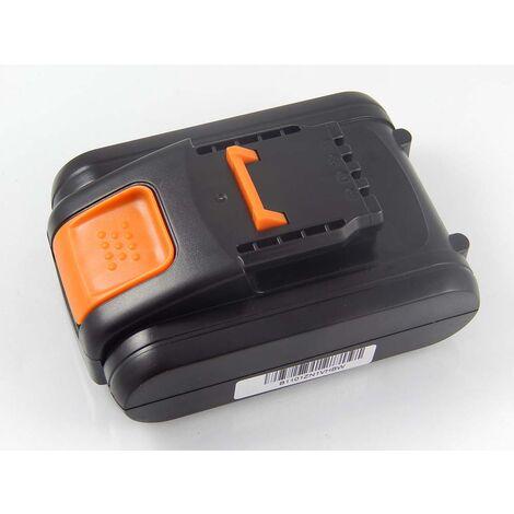 vhbw Li-Ion battery 1500mAh (20V) suitable for electronic tool Worx WG169, WG169E, WG259, WG259E.9, WG549, WG549E.5, WG549E.9 replaces WA3551.1.
