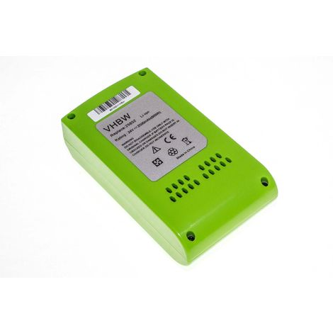 vhbw Li-Ion battery 2500mAh (24V) suitable for electronic tool Greenworks 22-Inch Cordless Hedge Trimmer replaces 29322.