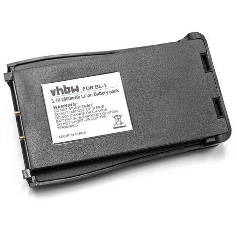 vhbw Li-Ion battery 2800mAh (3.7V) suitable for radio, walkie-talkie Baofeng BF-666S, BF-777S, BF-888S, H777