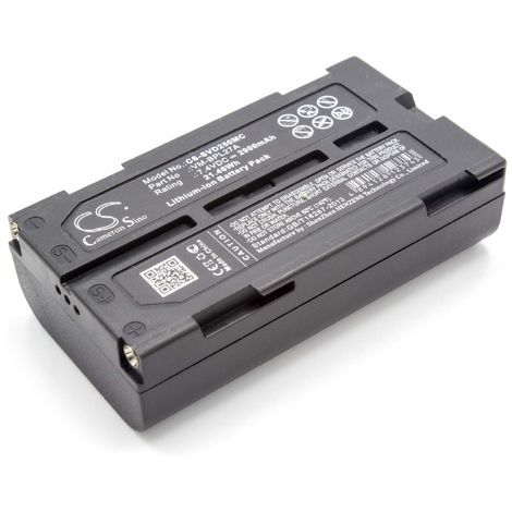 vhbw Li-Ion battery 2900mAh (7.4V) for camera video camera camcorder Panasonic NV-GS33EG-S, NV-GS35, NV-GS35E-S, NV-GS37, NV-GS37E-S, NV-GS37EB-S