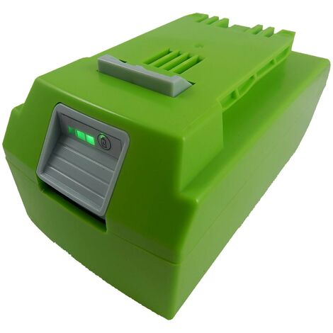 vhbw Li-Ion battery 4000mAh (24V) suitable for electronic tool Greenworks 20-Inch Cordless Pole Hedge Trimmer replaces 29322.
