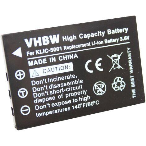 vhbw Li-Ion battery black Suitable for ICOM IC-E7, IC-P7, IC-P7A replaces BP-243.