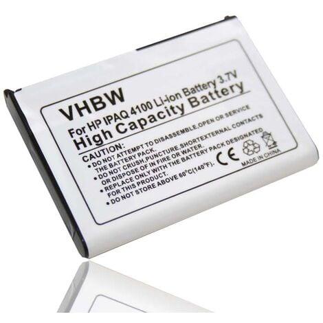 vhbw Li-Ion Battery compatible with Fujitsu-Siemens Pocket Loox 410, 420, C550, N500, N520, N540 Handheld Mobile Computer (1000mAh, 3.7V, Li-Ion)