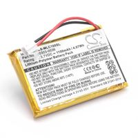 vhbw Li-Polymère batterie 1100mAh (3.7V) pour appareil de mesure Minelab CTX 3030 WM-10