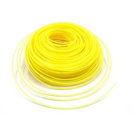 Ersatz-Faden für Husqvarna  Rasentrimmer 3mm x 15m gelb