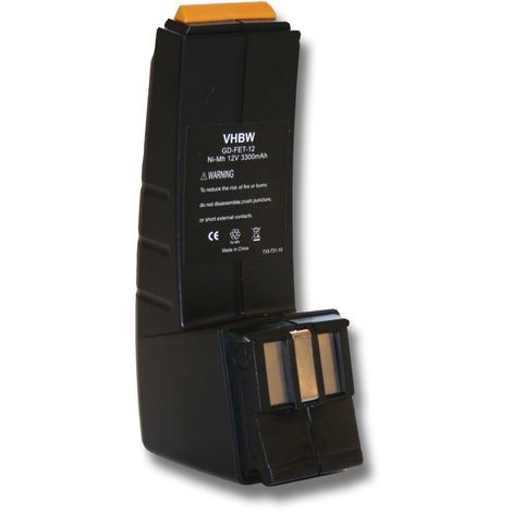 3x ORIGINAL ACCU ® Batterie 12 V 3000 mAh pour Festo Festool cdd12es cdd12esc