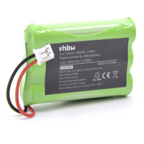 vhbw 3x Akku wie Metabo 631858000 NiMH 1500mAh 4.8V