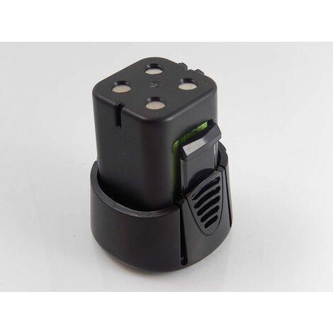 vhbw NiMH Batería 1500mAh (4.8V) para su herramienta electrónica Dremel 7300-N/8, MiniMite 4.8-Volt Cordless Two-Speed Rotary Tool por 755-01.