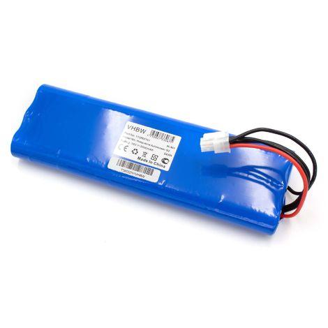 9.6V per misuratore multimetro come AMC 689139B00 694233 vhbw NiMH batteria 3600mAh