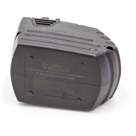 vhbw NiMH batterie 1500mAh (15.6V) pour outil électrique outil Powertools Tools Hilti SF150, SF150-A, SF150A, SF151, SF151-A, SF151A
