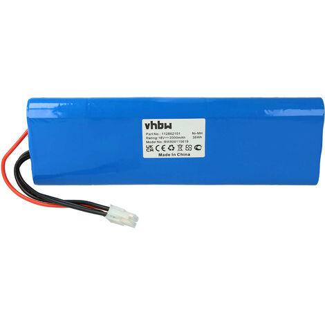 vhbw NiMH batterie 2000mAh (18V) pour tondeuse à gazon robot tondeuse Gardena Robotic R160, Husqvarna Automower 210AC comme 112862101