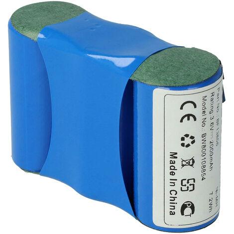 vhbw NiMH Batterie 2000mAh pour outils électriques sécateur WolfBS45 comme Accu45, BF13806 VSE 4/5, BS45, Wolf 70845 055.