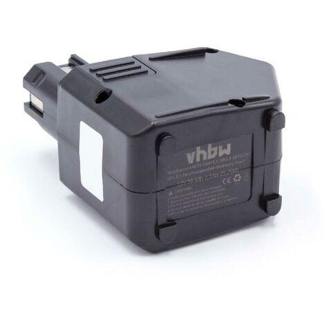 vhbw NiMH Batterie 2100mAh (12V) pour outils Hilti SB12, SF120-A, SFB105, SFB125 comme SBP10, 00315082, SBP12, SFB105, SFB125.