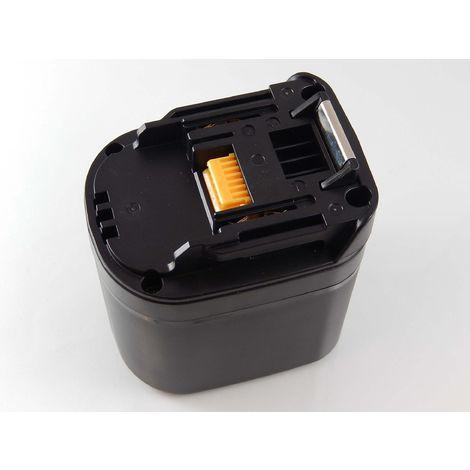 vhbw NiMH Batterie 2100mAh(12V)pour outils électriques Makita BFH040,BFH040F,BFH090,BFH090F,BFH120F,BFL081F, BFL121F comme 193346-2, 193349-6, BH1220.