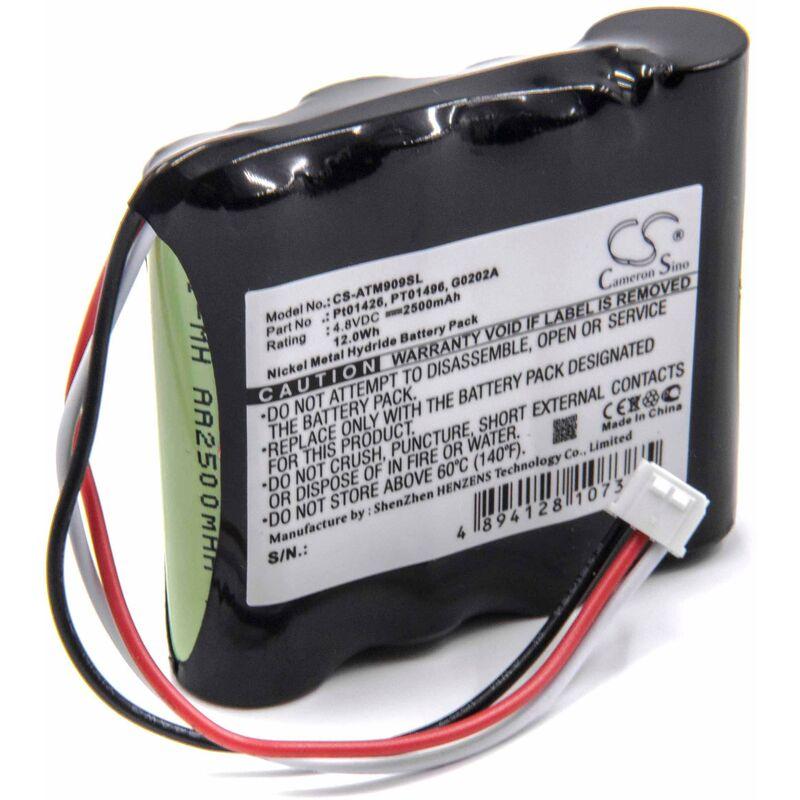 NiMH Batterie 2500mAh(4.8V)pour OTDR appareil de mesure pour fibres optiques Anritsu909814B,909815B, MT9090,MT9090A comme PT01426,G0202A,PT01496.