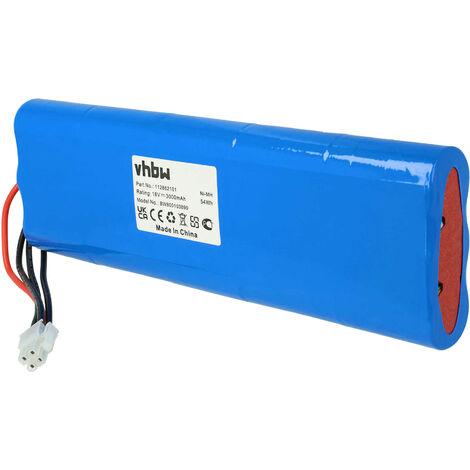vhbw NiMH batterie 3000mAh (18V) pour tondeuse à gazon robot tondeuse Gardena Robotic R160, Husqvarna Automower 210AC comme 535120901