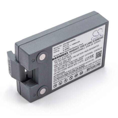 vhbw NiMH battery 1400mAh (6V) for measuring devices laser Sokkia Set 5FS Total Stations, Set 5S Total Stations, Set 5W Total Stations