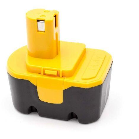 vhbw NiMH battery 1500mAh (14.4V) for electric power tools Ryobi R10521, RY1420, RY62, RY6200, RY6201, RY6202, STPP-1441