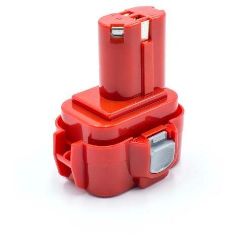 vhbw NiMH battery 1500mAh (9.6V) for electric power tool as Makita 9100A, 9101, 9101A, 9102, 9102A