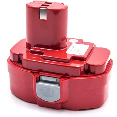 vhbw NiMH battery 2000mAh (18V) for power tools Makita 8443DWDE, 8443DWFE, 8444DWDE, 8444DWFE, BMR100, DK1016DL