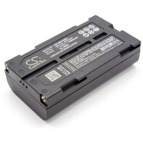 "main image of ""vhbw Replacement Battery compatible with Sokkia SET510, SET 510, SET 510K, SET530, SET 530, SET530R Measuring Devices (3400mAh, 7.4V, Li-Ion)"""