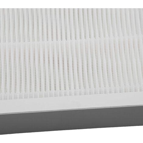 vhbw replacement HEPA filter for Homedics AR-10-EU, AR-10A-EU humidifiers air purifiers white