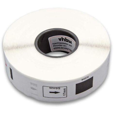 vhbw roll labels for Brother P-Touch QL-1050, QL-1050N, QL-1060, QL-1060N, QL-500, QL-500A, QL-500BS, QL-500BW, QL-550 replaces DK-11204.