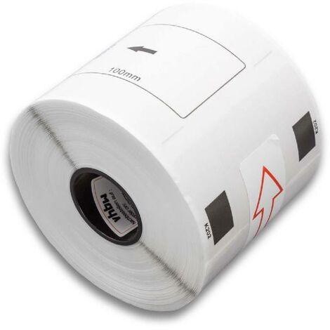 vhbw roll labels for Brother P-Touch QL-560, QL-560VP, QL-570, QL-580, QL-580N, QL-650, QL-650TD, QL-700, QL-710 replaces DK-11202.