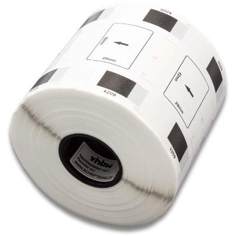 5000 DRUCKER ETIKETTEN WEIß 12x24mm für DYMO Labelwriter 11353