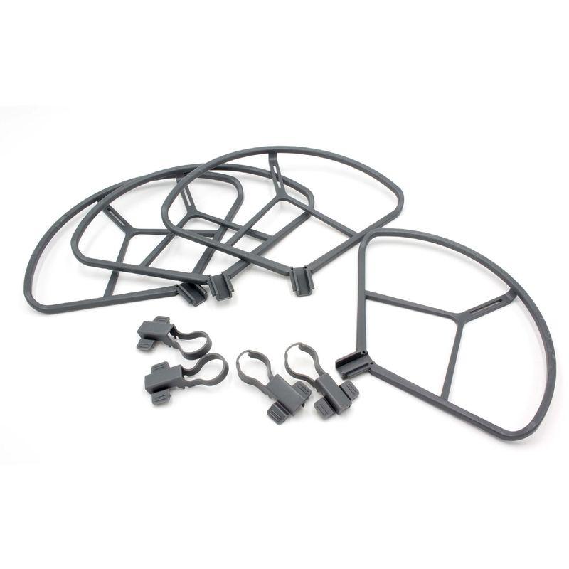 Image of vhbw Rotor-Schutz-Set Kunststoff grau passend für Drohne Multicopter Quadrocopter DJI Mavic Pro