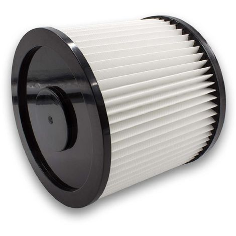 vhbw Rund-Filter passend für Einhell HPS 1300 Inox, Inox 1250 / 1, Inox 1450 W, NTS 1400, NTS 1600, RT-VC 1420, RT-VC 1600 E, SM 1100 Mehrzwecksauger