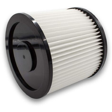 vhbw Rund-Filter passend für Einhell NTS 1500, SMK 300 / E, TE-VC 1820, TE-VC 1925 SA, TE-VC 2230 SA, TH-VC 1820 ARG / EX, SM 31 Mehrzwecksauger