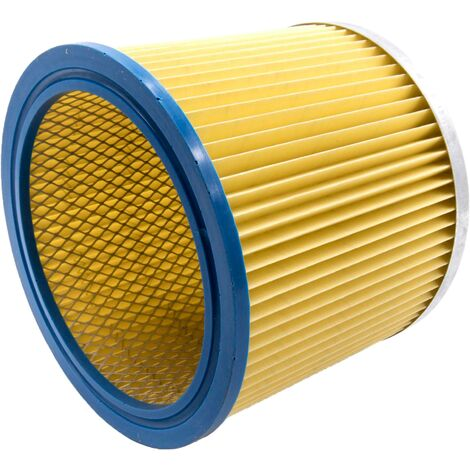 vhbw Rundfilter / Lamellenfilter passend für Staubsauger Einhell SM 1100 YPL 1250, SM 1100, SM-1100, SS 1250 N, SS1250N
