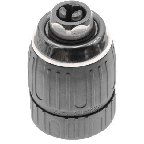 """vhbw Schnellspannbohrfutter 1 - 13mm - 1/2"""" x 20mm passend für Metabo,Bosch, Makita, Festool, Hilti Akku Bohrschrauber, Bohrmaschinen, Schlagbohrer"""