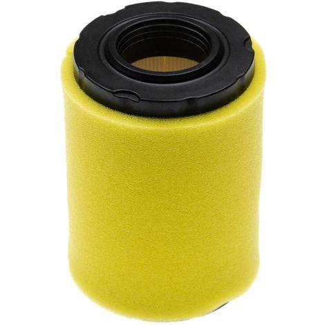 vhbw Set de filtres (1x filtre à air, 1x préfiltre) compatible avec Briggs & Stratton 31G777-0157-B1 moteur pour tracteur tondeuse