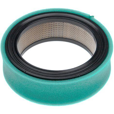 vhbw Set de filtres (1x filtre à air, 1x préfiltre) compatible avec Tecumseh OH140 moteur pour tracteur tondeuse, tracteur tondeuse