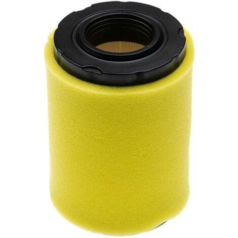 vhbw Set de filtres (1x filtre à air, 1x préfiltre) remplace Briggs & Stratton 797704 pour tracteur tondeuse