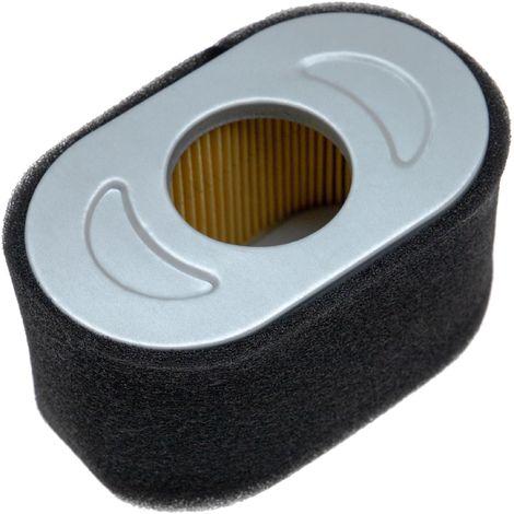vhbw Set de filtres (filtre à air en papier, filtre mousse) compatible avec Briggs & Stratton Vanguard 13H332-0126-B8 moteur pour tracteur tondeuse