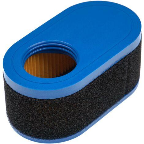 vhbw Set de filtros (1x filtro de aire, 1x prefiltro) compatible con Troy-Bilt 4P90JUB Motor para tractor de césped, corta troncos