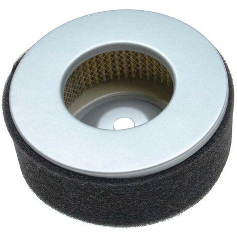 vhbw Set de filtros (1x filtro de aire, 1x prefiltro) reemplaza Yanmar 114250-12540, 114250-12580 para tractor de césped