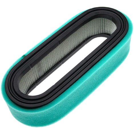 vhbw Set de filtros (1x filtro de aire de papel, 1x filtro de espuma) reemplaza Lesco 050380 para tractor de césped, cortadora de césped con asiento