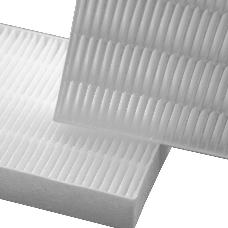 vhbw Set de filtros filtro de polen para Bosch Exclusiv WTL151 WTL151SK/01, WTL151 WTL151SK/05 secadoras de ropa filtro de repuesto