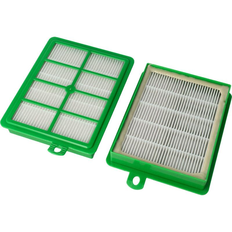 Set de filtros Hepa para AEG UltraOne AEL 8808, AEL 8809, AEL 8810, AEL 8811, AEL 8812, AEL 8813, AEL 8814, AEL 8815 reemplaza AEF 12, H12. - Vhbw